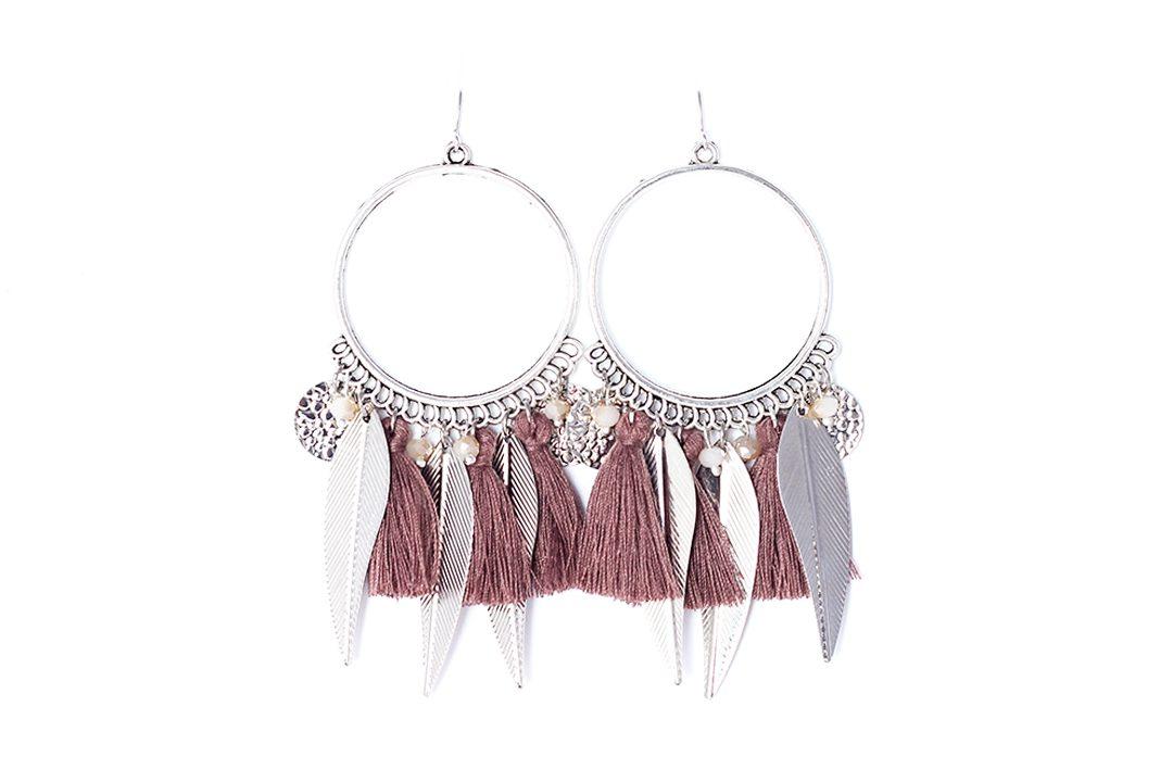 Boucles d'oreilles Bijoux Naïves ros