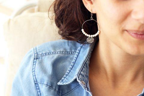 Boucle d'oreille Bijoux Naives