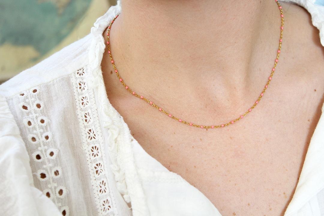 Collier bijoux bohème