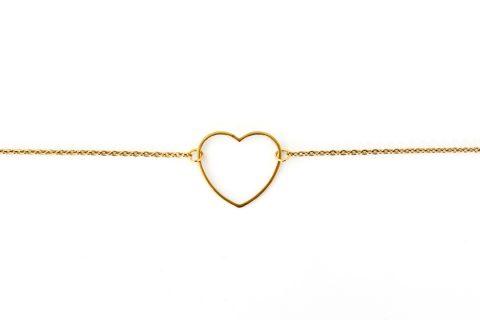 Bracelet coeur bijoux naives